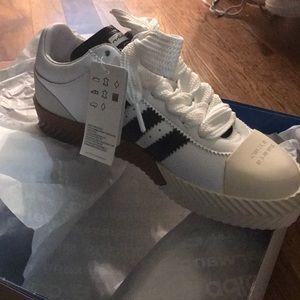 adidas AW Skate Super Alexander Wang White Black